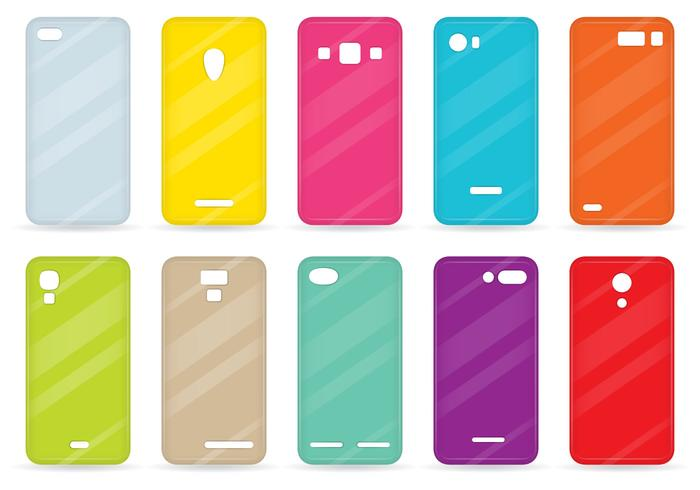 Colorful Cases vector