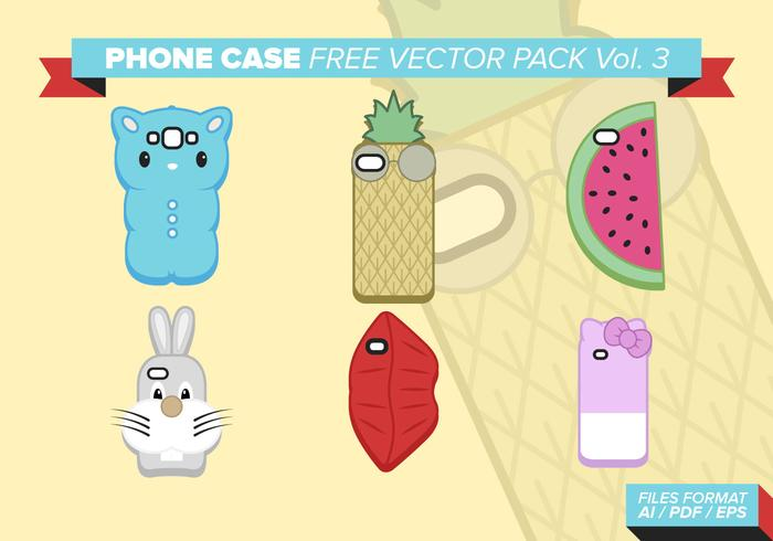 Phone Case Free Vector Pack Vol. 3