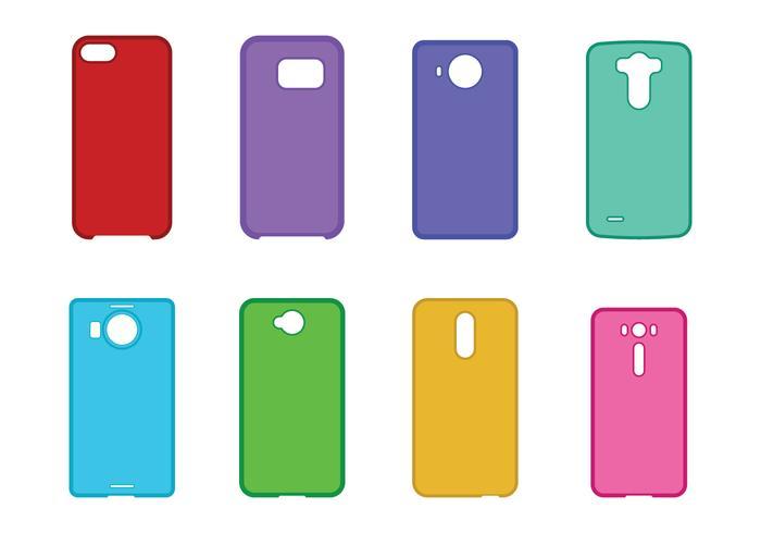 Phone Case Set vector